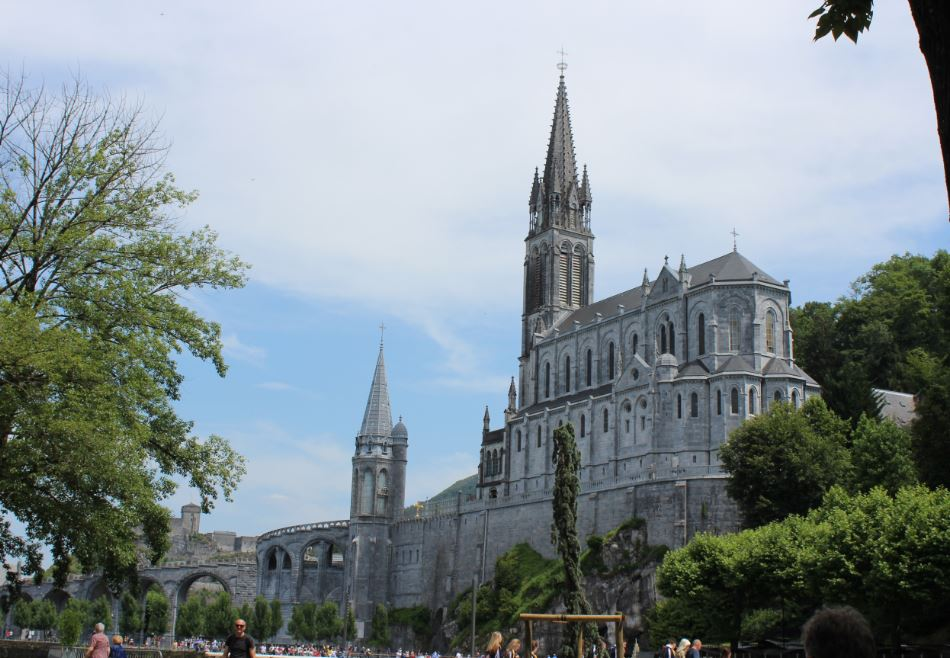 Lourdes Catholic pilgrimage